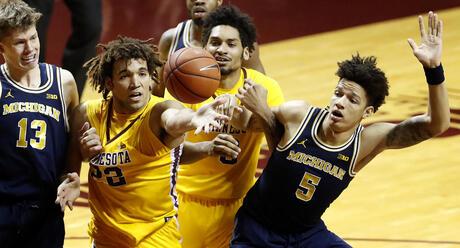 Michigan Minnesota Basketball