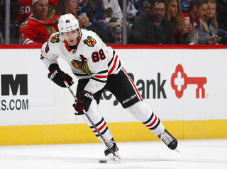 Chicago Blackhawks right wing Patrick Kane (88)