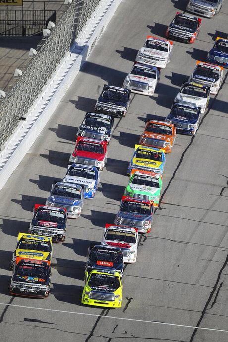 NASCAR Atlanta Trucks  Auto Racing