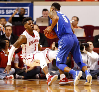 Memphis Oklahoma Basketball