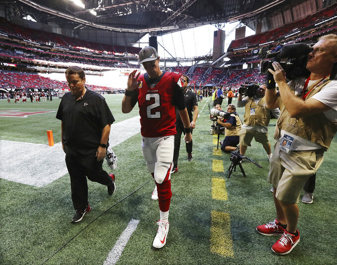 Falcons may face tough decisions following 5 straight losses
