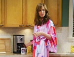 This image released by CBS shows Allison Janney in a scene from the comedy,