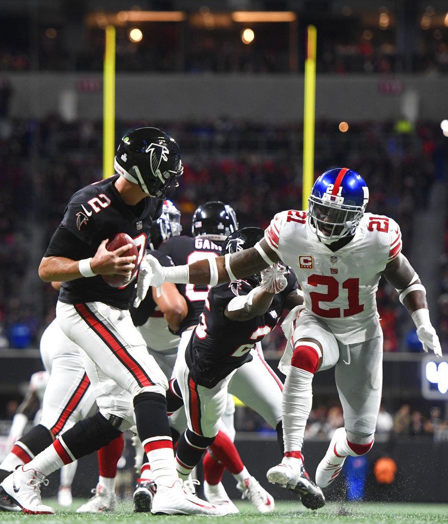 Giants Falcons Football