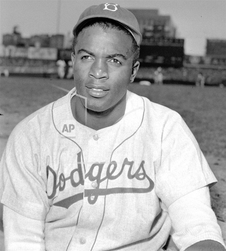 Associated Press Sports United States Professional baseball (National League) JACKIE ROBINSON