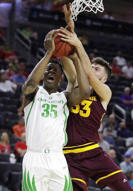 P12 Arizona St Oregon Basketball
