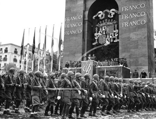 Franco Victory Parade