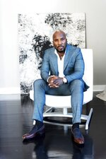 Jeezy poses for a portrait on Wednesday, Nov. 18, 2020 in Atlanta. (Photo by Paul R. Giunta/Invision/AP)