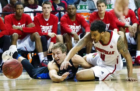 ACC Duke Louisville Basketball