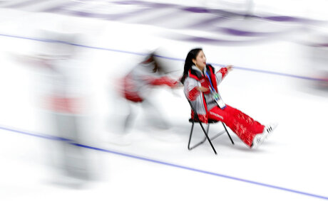 Pyeongchang Olympics Speed Skating Volunteers