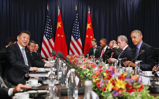Barack Obama, Xi Jingping
