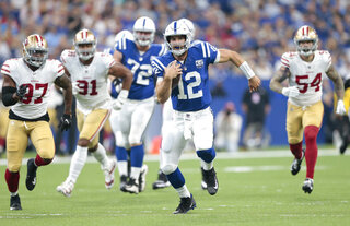 49ers Colts Football