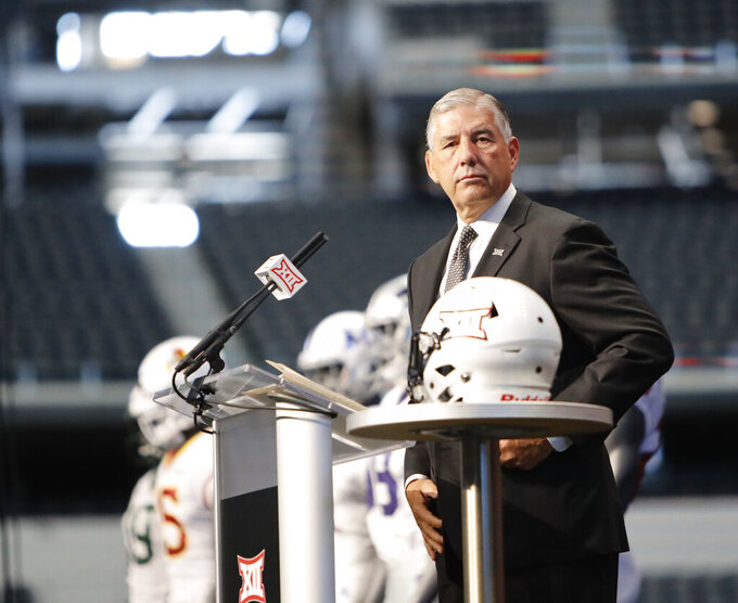 Big 12 is a 10: Bowlsby says no talk of expanding league