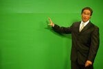 In this Oct. 5, 2006 photo, KRQE-TV Chief Meteorologist Mark Ronchetti stands in front of a
