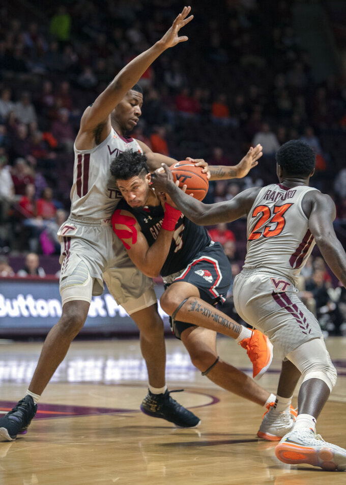 Nolley II propels Virginia Tech past Gardner-Webb