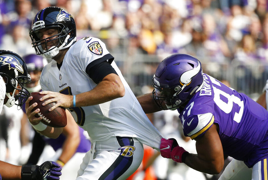 Everson Griffen, Joe Flacco