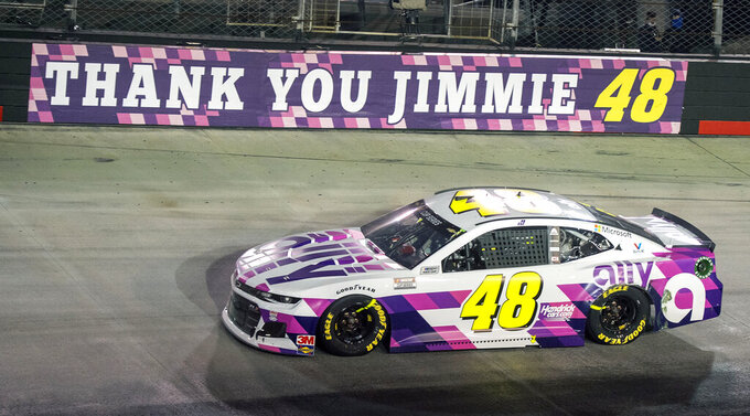 Jimmie Johnson leaves indelible mark on and off race track