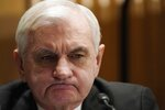 Sen. Jack Reed, D-R.I., listens during a confirmation hearing for President-elect Joe Biden's pick for national intelligence director Avril Haines before the Senate intelligence committee on Tuesday, Jan. 19, 2021, in Washington. (Melina Mara/The Washington Post via AP, Pool)