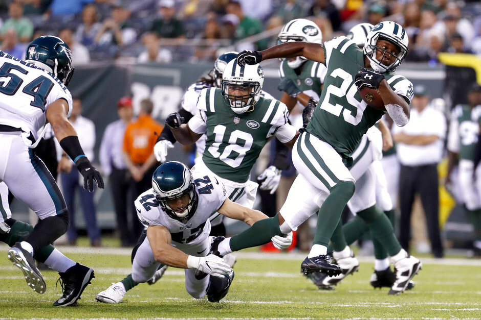 Jets Running Game Football