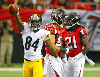 Steelers Falcons Football