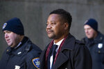 Cuba Gooding Jr. leaves court, Wednesday, Jan. 22, 2020, in New York. A New York City judge ruled that two additional women accusing Gooding of sexual misconduct will be allowed to testify at the
