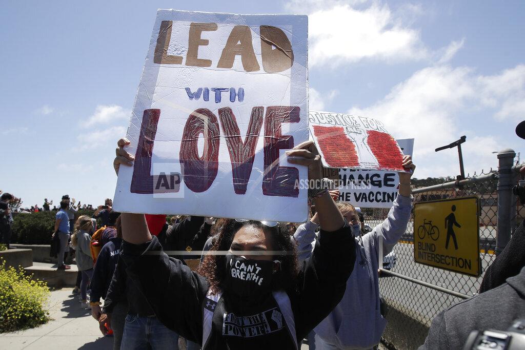 America Protests San Francisco
