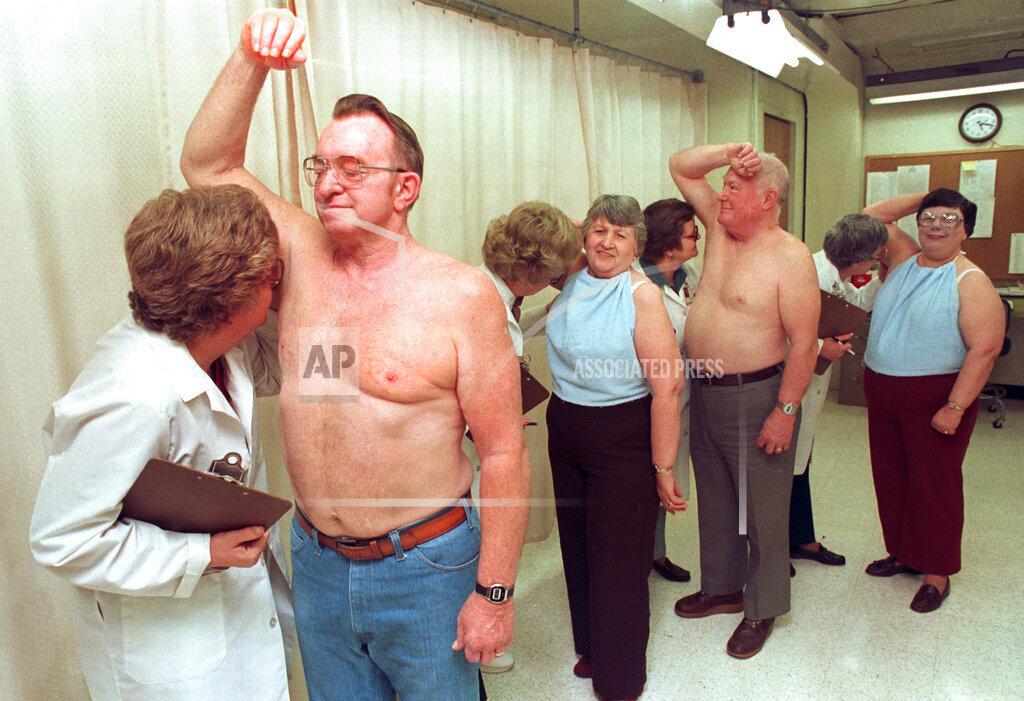 Associated Press Domestic News Ohio United States DEODORANT TESTING