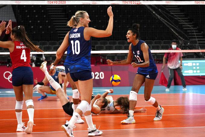 Jordan Thompson posts impressive Olympic volleyball debut