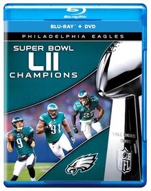 Eagles Super Bowl DVD Football