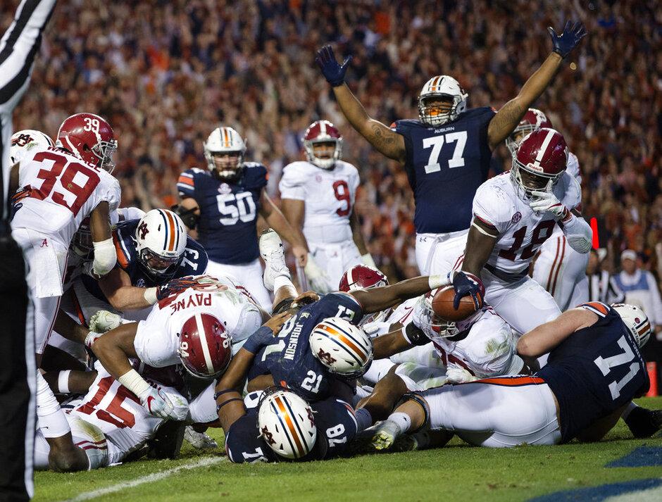 Auburn Alabama Football