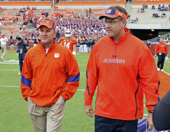 Arkansas' Morris, Auburn's Malzahn put friendship on hold