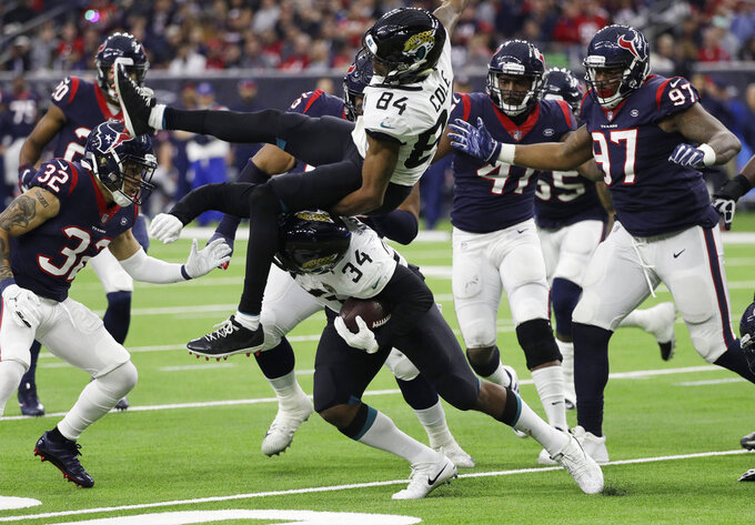 Jacksonville Jaguars at Houston Texans 12/30/2018