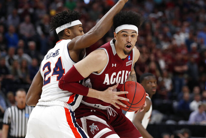 New Mexico State Aggies at Auburn Tigers 3/21/2019