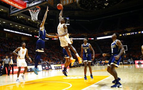 APTOPIX Georgia Tech Tennessee Basketball