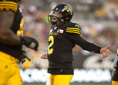 CFL Argonauts Tiger Cats Football