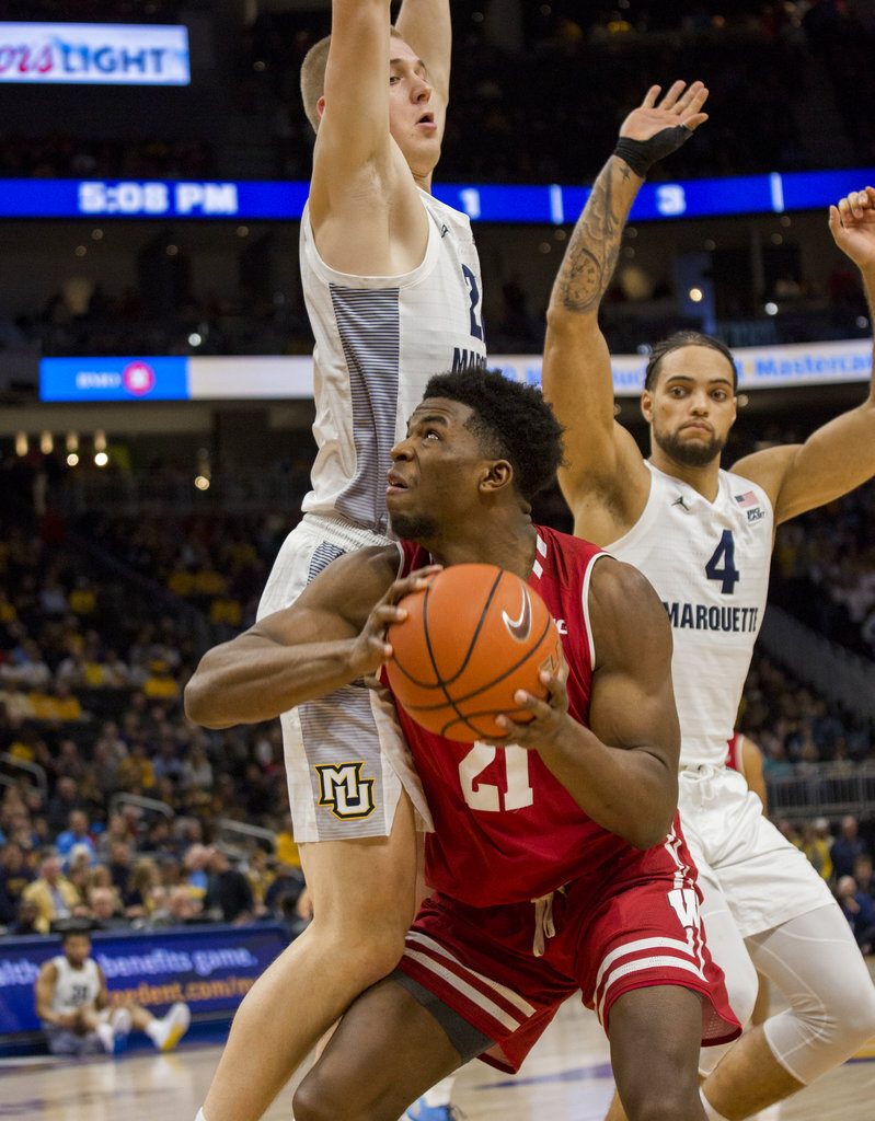Wisconsin Marquette Basketball