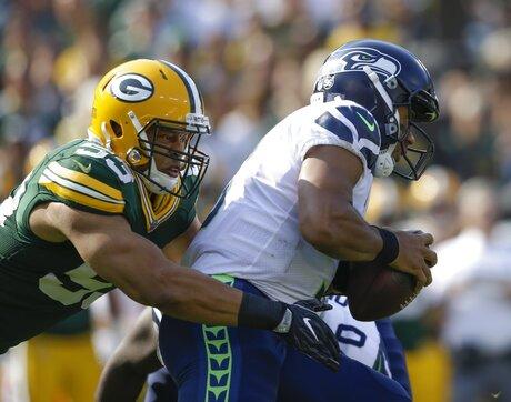 Seahawks Packers Football