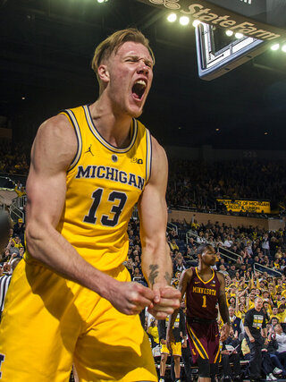 Minnesota Michigan Basketball