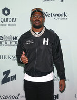 Von Miller attends the Bootsy On the Water at the Miami Seaquarium on Friday, Jan. 31,2020, in Miami, FL. (Photo by Donald Traill/Invision/AP)