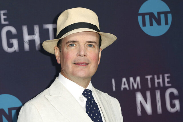 FILE - Jefferson Mays arrives at the