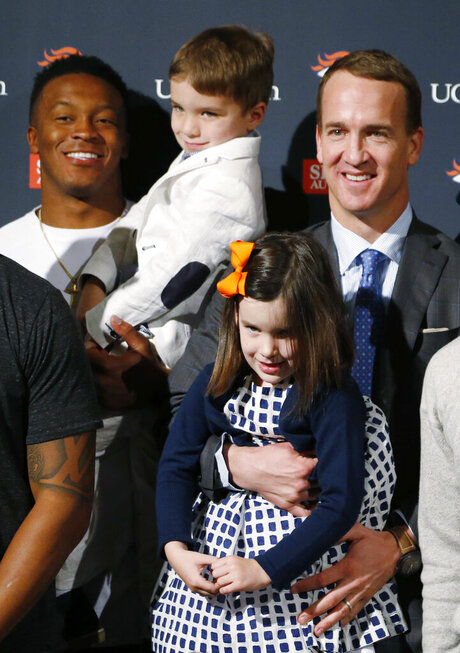 Demaryius Thomas, Marshall, Mosely, Peyton Manning