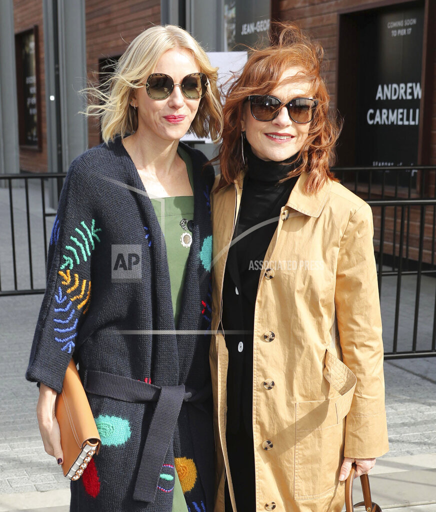 Naomi Watts and Isabelle Huppert are seen in NYC - 2/10/19