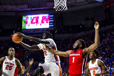 Georgia Florida Basketball