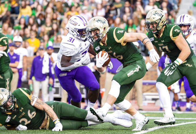 James Madison rolls in 38-10 victory over William & Mary