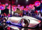 The Mercedes concept car