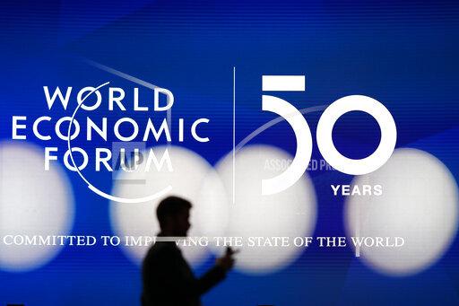 APTOPIX Switzerland Davos Forum