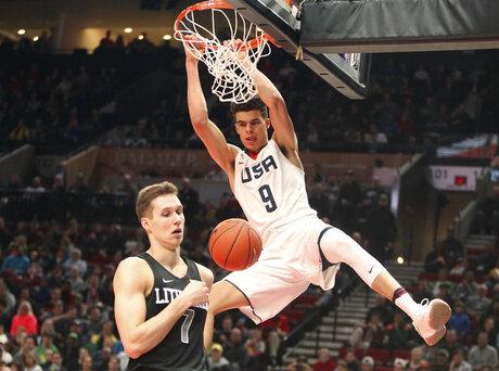 Nike Hoop Summit Basketball
