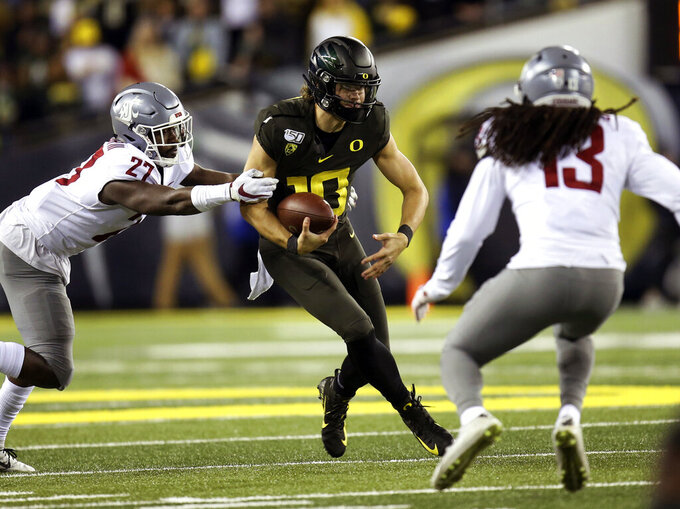 No. 7 Oregon puts 7-game winning streak on the line at USC