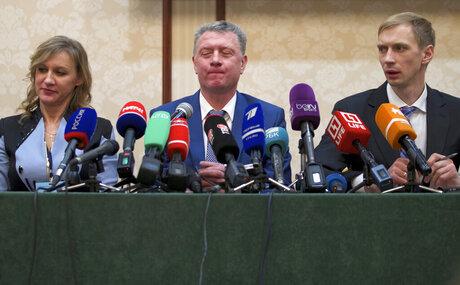Yulia Tarasenko, Dmitry Shlyakhtin, Andrey Silnov
