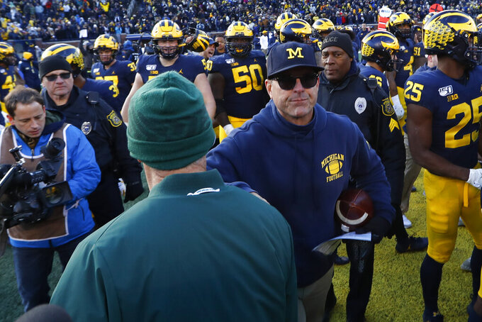 It wasn't Ohio State, but Michigan has pounded other rivals