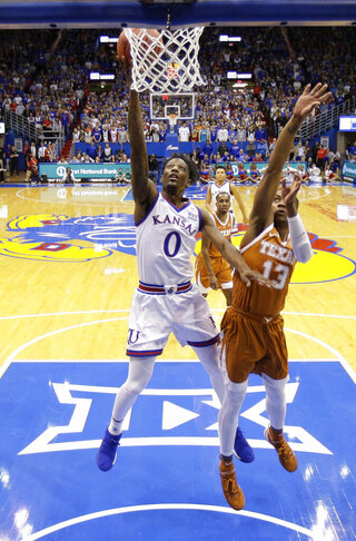 Texas Kansas Basketball